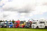 LKW-Aufstellung bei Truckfest 2017 Uk