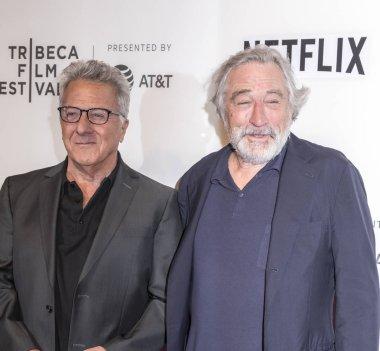 Dustin Hoffman and Robert De Niro