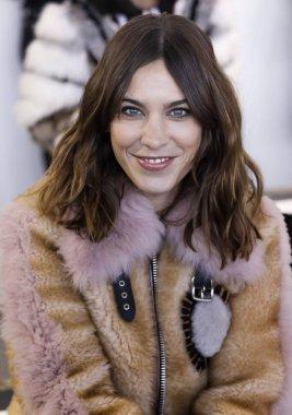 fashion designer Alexa Chung