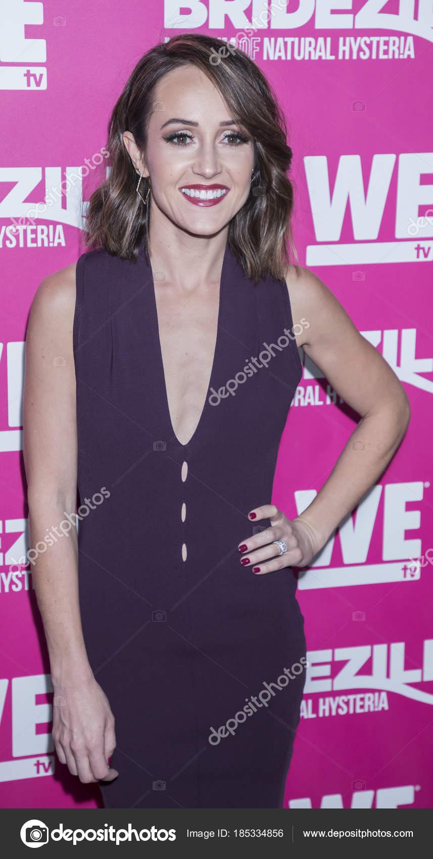 Personalidad de televisión Ashley Hebert — Foto editorial de stock ...