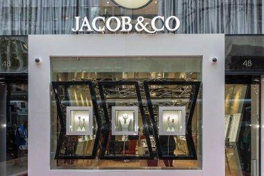Exterior view of Jacob & Co. boutique