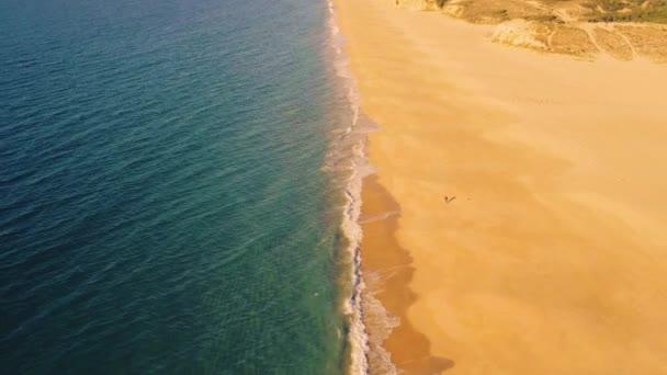 A légi felvétel a fenti Ocean Beach