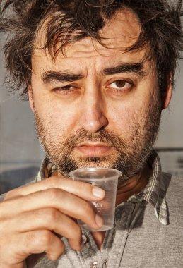 face of drunkard