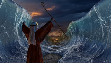 Crossing the Red Sea with Moses