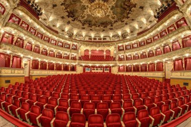 Empty auditorium of the great theater