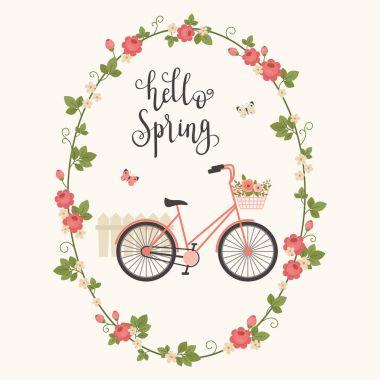 Spring concept vector illustration