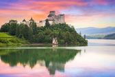 středověké niedzica castle