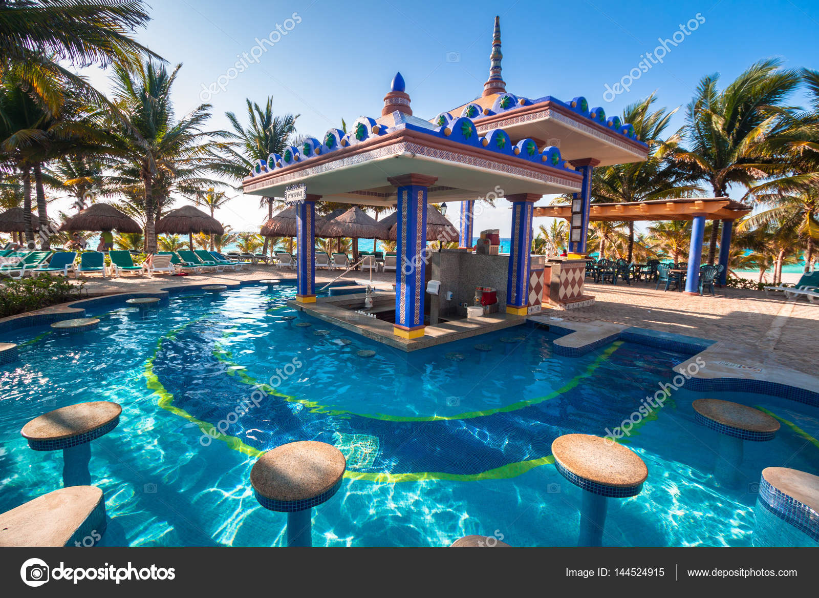 hôtel de luxe yucatan