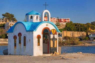 Beautiful chapel on the coast of Kato Galatas on Crete