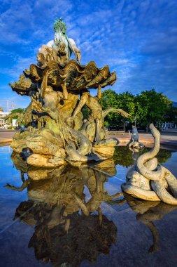 The Neptune Fountain in Berlin