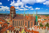 Photo Saint Mary Cathedral in the old town of Gdansk, Poland