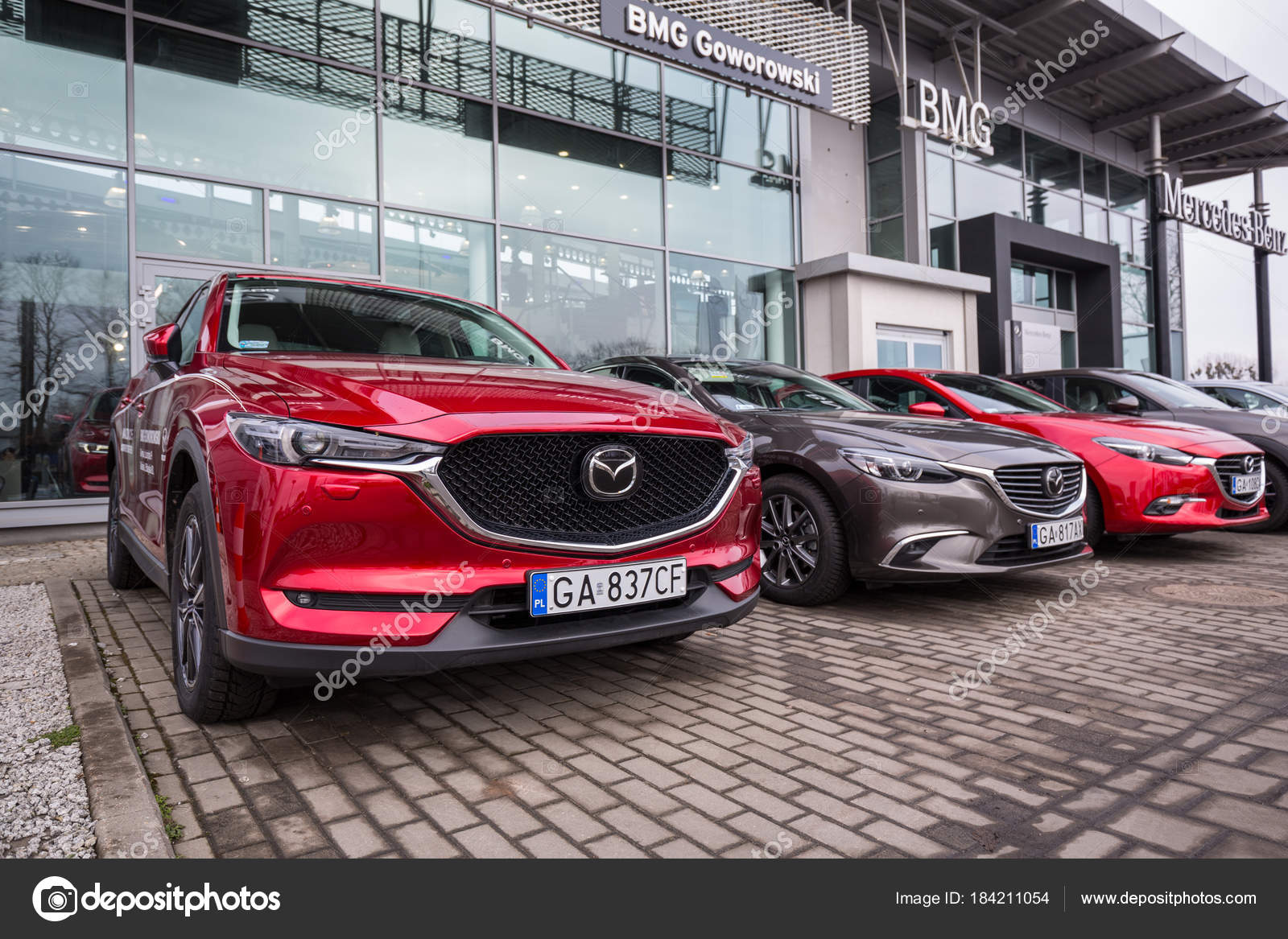 Mazda Dealerships In Georgia >> Gdansk Poland February 2018 Mazda Bmg Goworowski Car