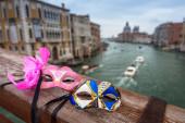 Benátské masky ve městě Benátky, Itálie