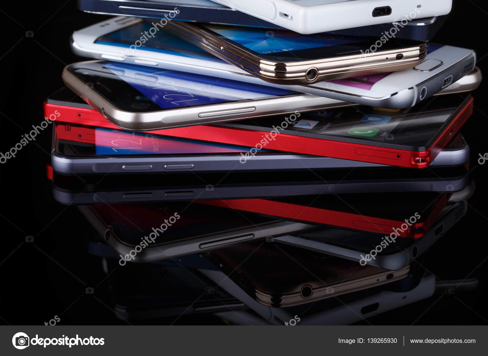 Handy-drahtlose Kommunikation-Technologie und Mobilität busi ...