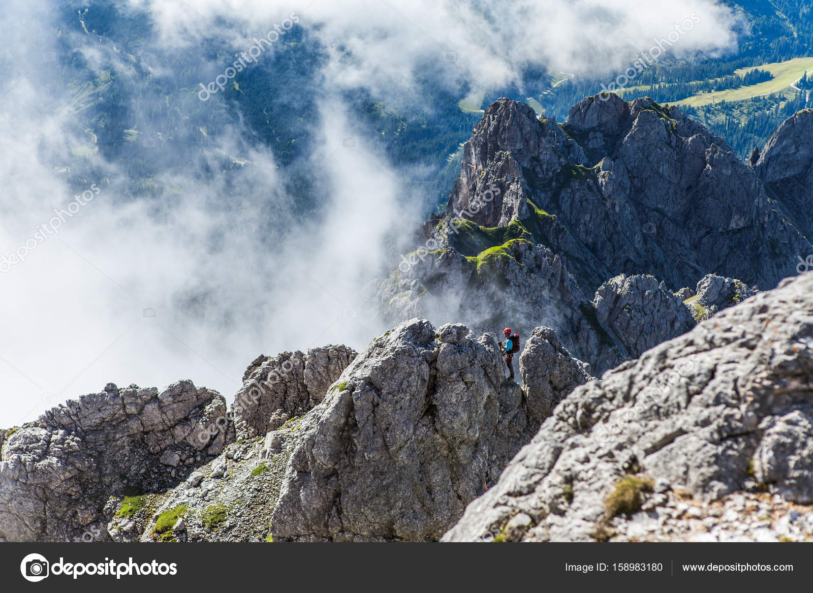 Klettersteig Austria : Klettersteig konigsjodler in Österreich Österreichische alpen