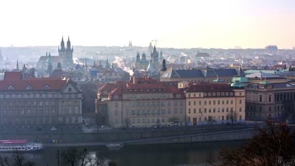 Panoramatický výhled na pražské panoráma