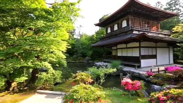 Chrám stříbrného pavilonu Ginkaku-ji, Japonsko
