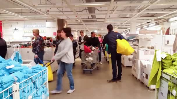 Khimki Russia October 05 2016 Customers In The Netherlands Ikea