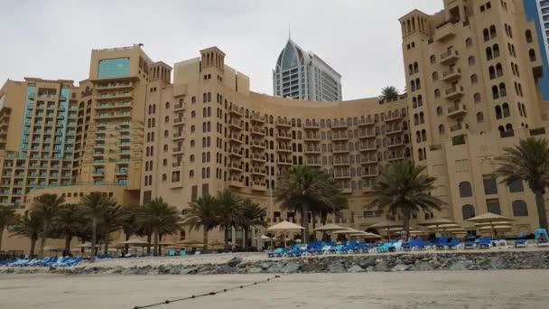 Ajman, Emirati Arabi Uniti - 11 aprile. 2018. numero dei resort hotel sulla riva del Golfo Persico