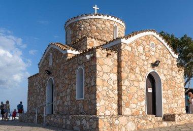 Protaras, Cyprus - Oct 6. 2019 A church of St Nicholas