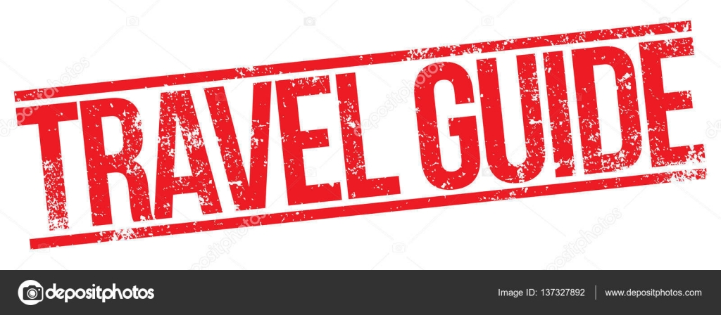 Travel Guide Stamp Stock Vector