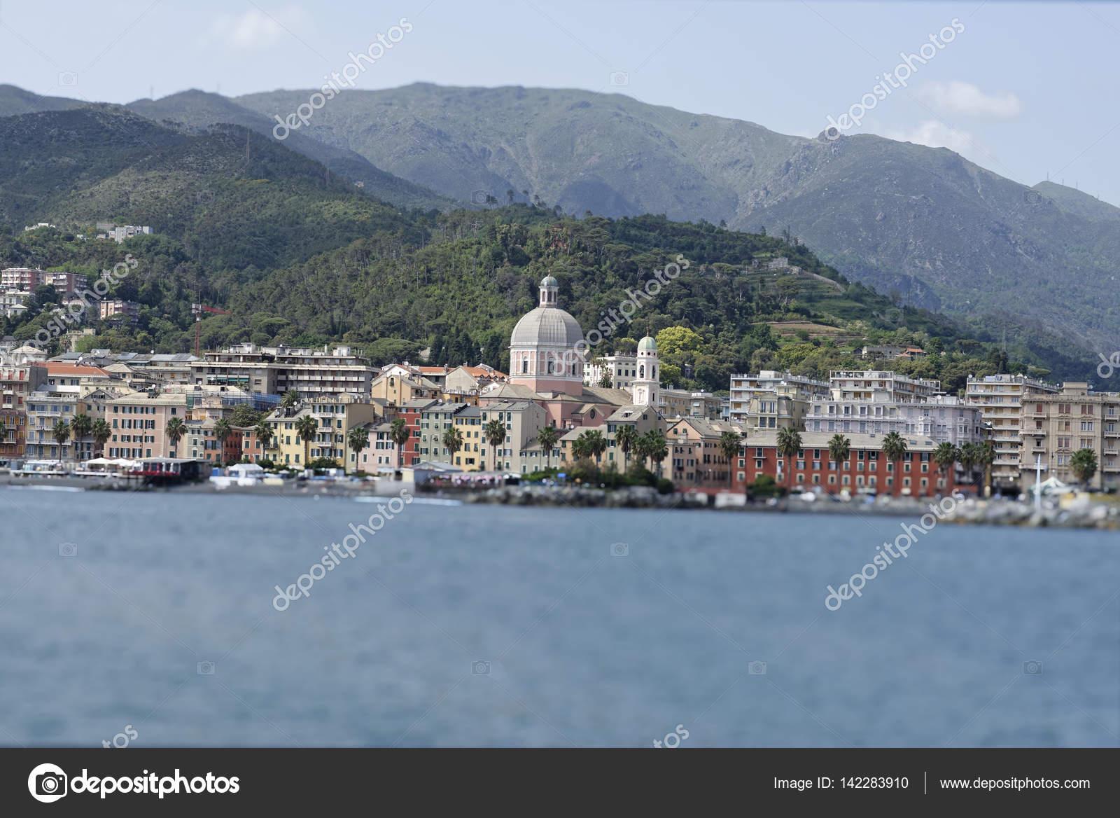 Veduta Di Genova Pegli U2014 Foto Stock