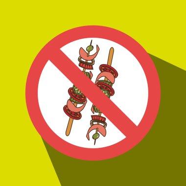 skewer fast food unhealth prohibited