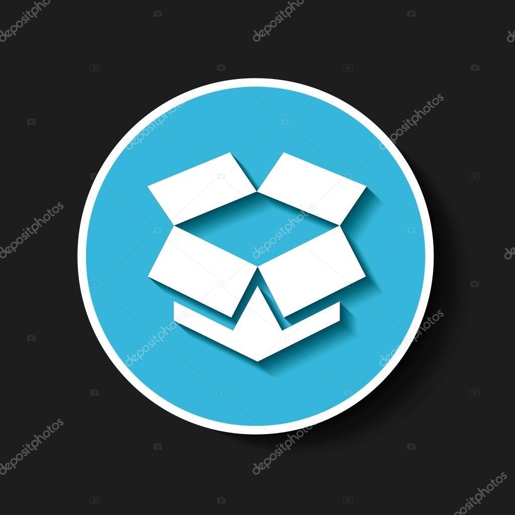 Dropbox Classic Emblem Icon Stock Vector Yupiramos 125951746
