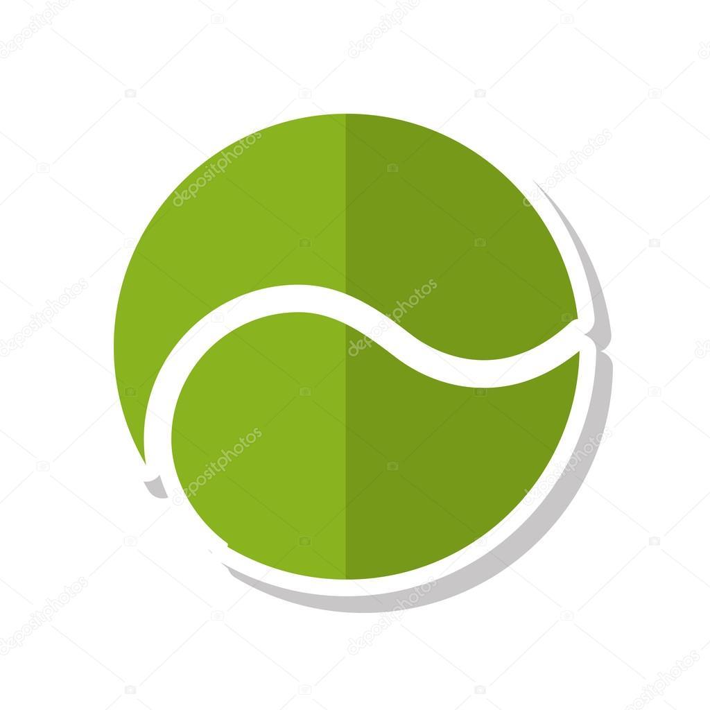 Icono De Bola Tenis Deporte Equipos Vector Stock Yupiramos Tennis