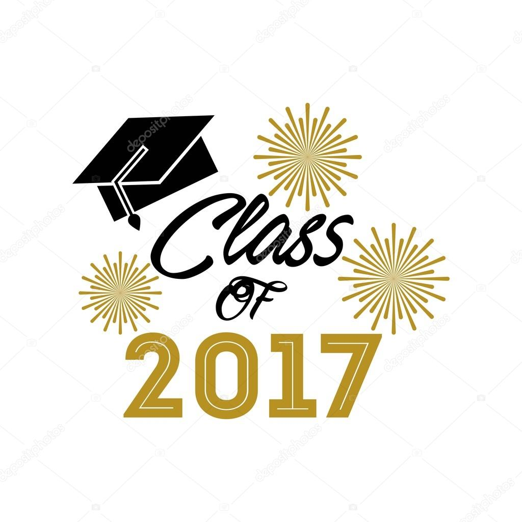 class of 2017 card � stock vector 169 yupiramos 126336350