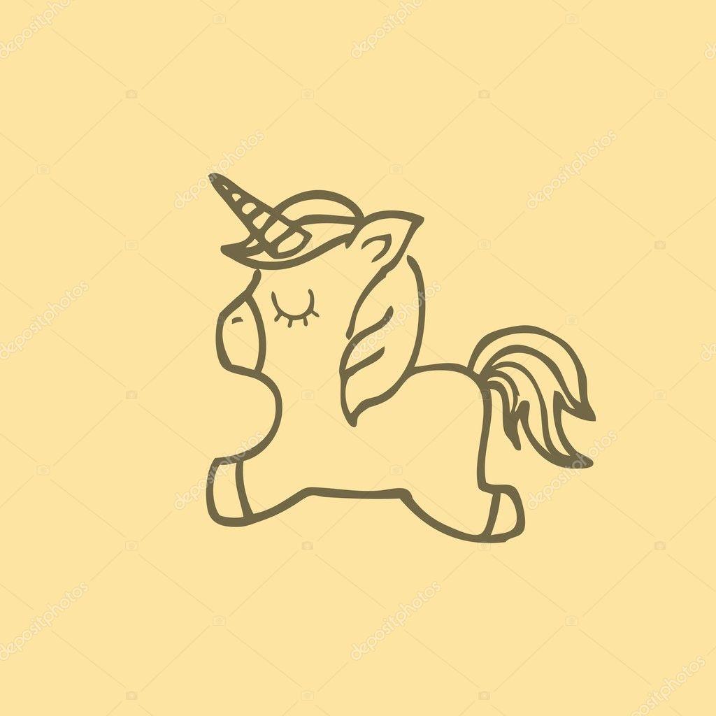 Hinomura Takuya × Upset being Depositphotos_126382624-stock-illustration-drawing-cute-unicorn-icon