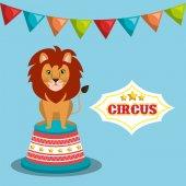 Fotografia progetto di spettacolo di circo
