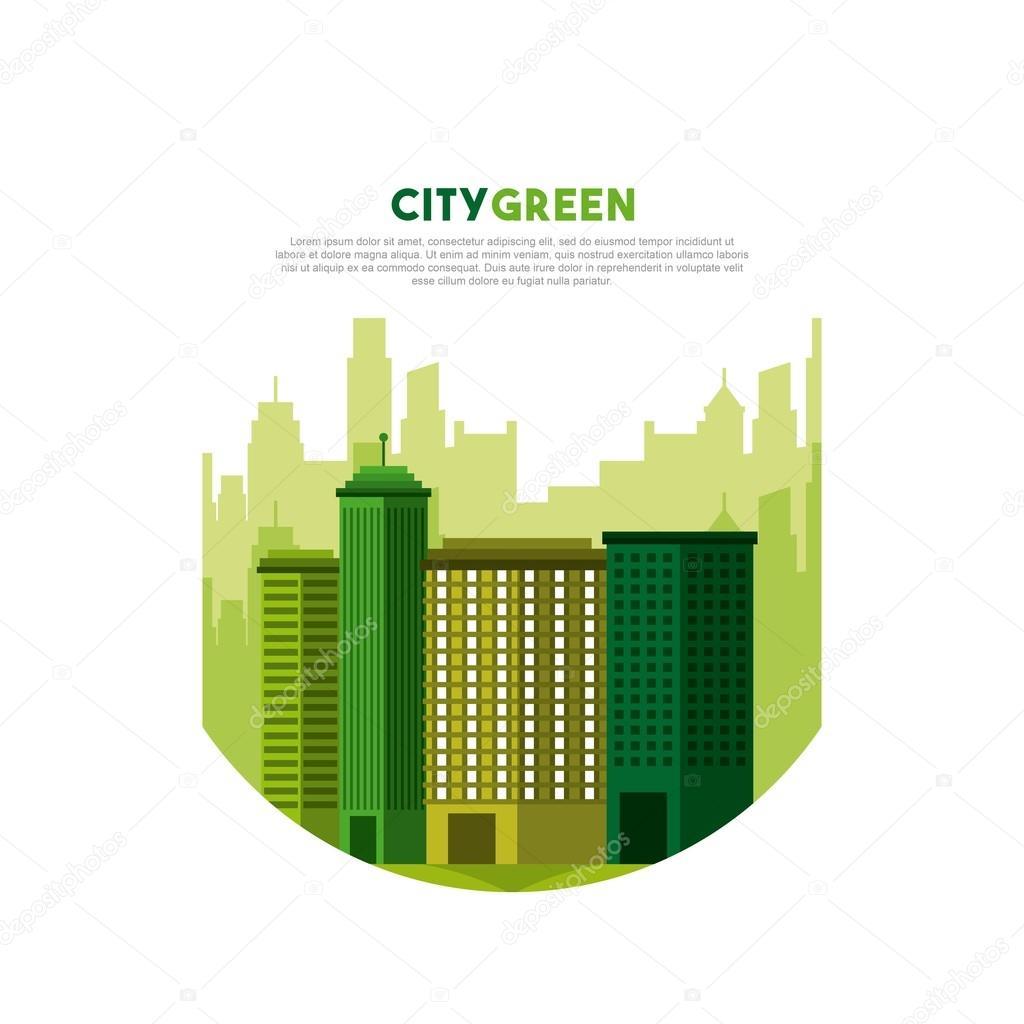 city green ecology cityscape