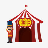 Welcome host tent circus design
