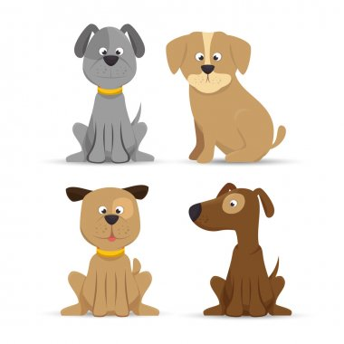 puppy dog cute design icon