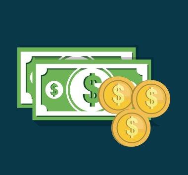 money cash flat icon