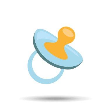 icon pacifier baby icon design