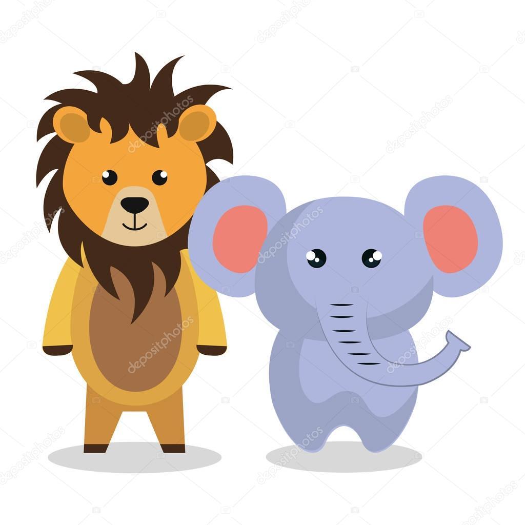 cute couple stuffed animals — stock vector © yupiramos #129247808