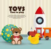 děti hračky sada ikon