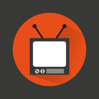old tv device icon