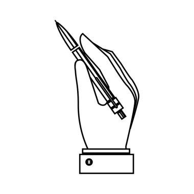 pen write isolated icon