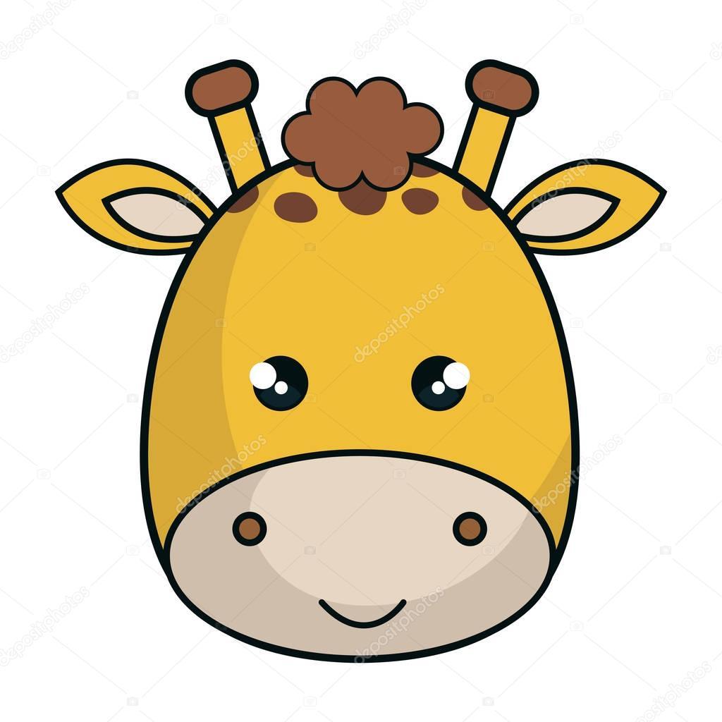 estilo de animales kawaii cute giraffe archivo im u00e1genes vectoriales  u00a9 yupiramos 129881002 vector facebook vector facelift