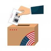 presidentials választások szavazás ikon