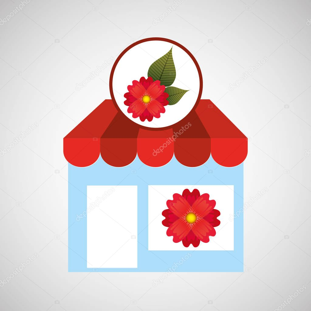 gerbera daisy flower store spring decoration icon