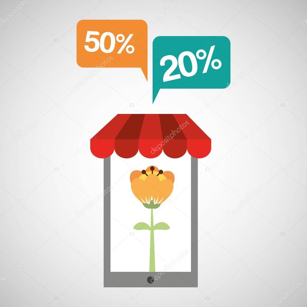 floral shop tulip flower online discount concept