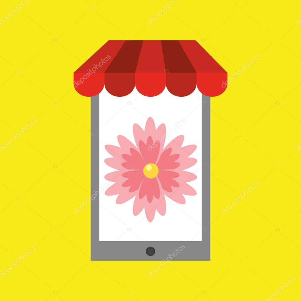 Floral shop daisy online discount concept stock vector yupiramos floral shop daisy online discount concept stock vector izmirmasajfo