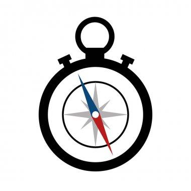 compass maritime device icon