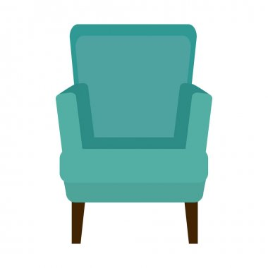 chair confortable isolated icon