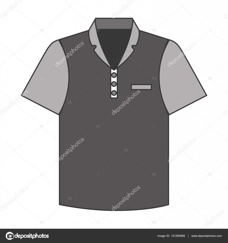 Shirt uniform design vector - Tennis Shirt Uniform Icon Vector Illustration Design Vector By Yupiramos