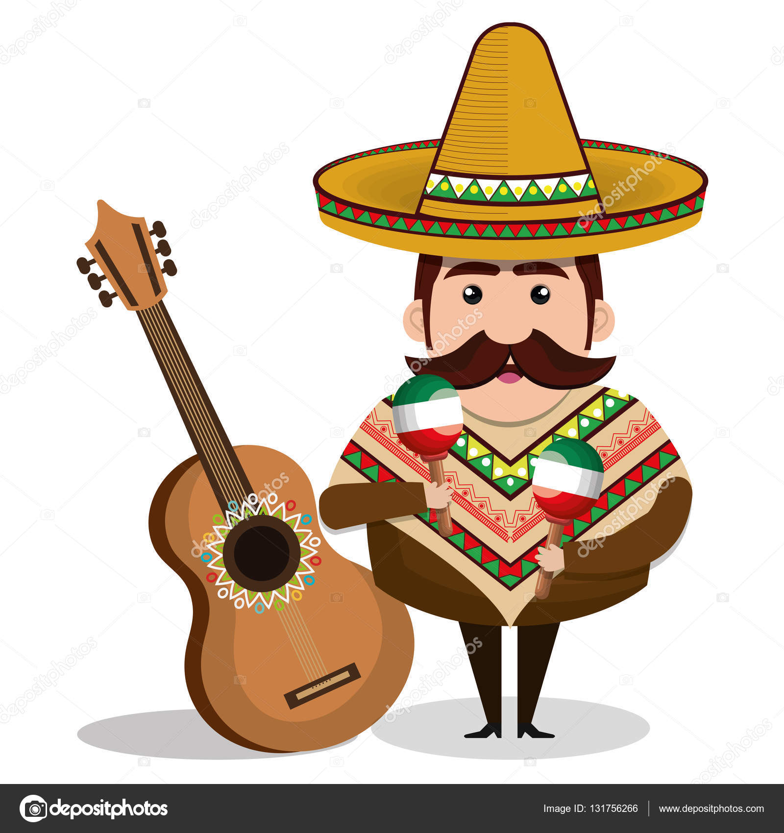 mexikanischer amerikanischer Mann